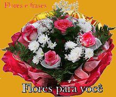 Flores e frases: TENHA CALMA...