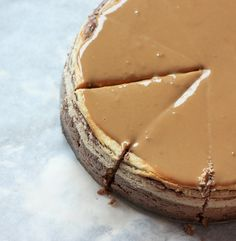 zebra cheesecake (recipe) kitchen-inspiration