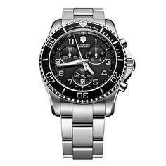 Victorinox Maverick Stainless Steel Bracelet Men's Watch