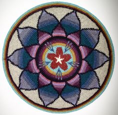 StarFlower Mandala 2007 by sriyana, via Flickr
