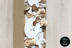 H.O.M.E. #Dress #Up #Your #Door or #Wall with this #DIY #nature #white #sewing #handmade #interior #decoration | by toneintone Sewing, Decoration, Interior, Wall, Nature, Handmade, Diy, Dress, Decor
