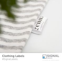 Flag Labels, Clothing Labels, Satin Labels, Sew on Labels