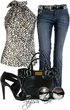 Outfit Jeans, Look Fashion, Fashion Outfits, Womens Fashion, Fashion Trends, Feminine Fashion, Fashion Ideas, Vetements Shoes, Mode Rockabilly
