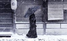 L'incanto dell'inverno giappones