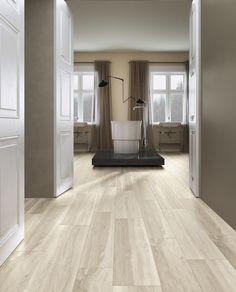 Utvalget av naturtro treflis har blitt kjempe stort og flere ser fordelen ved å bruke fliser isteden for ekte tre. Du beholder det myke uttrykket, men i tillegg får du et vedlikeholdsfritt gulv. Her ser dere en av våre mange tre-kolleksjoner. Wooden fra @Unicomstarker_ Dere, Oversized Mirror, Furniture, Design, Home Decor, Decoration Home, Room Decor, Home Furnishings