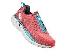 check out af00f f3a15 Hoka One One Women s Clifton 4 Shoe 6 5 Dubarry Grenadine