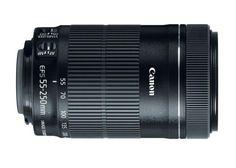 Brand New Canon EF-S 55-250mm f/4-5.6 IS STM Lens (White Box) Black