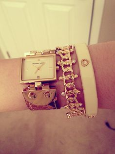 arm candy! michael kors, banana republic and forever21