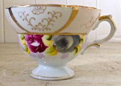 Magnifique tasse de collection peinte à la main. Porcelaine du Japon