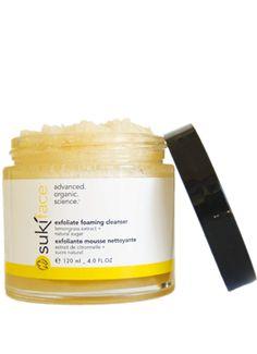 exfoliate foaming cleanser - suki skin care - pure shop
