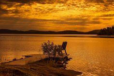 golden lake by Petri Forss