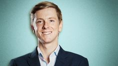 Chris Hughes, co-founder of Facebook, now publisher and editor-in-chief of The New Republic (USA).