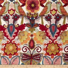 Folklorico Querida Flowers, Birds, & Butterflies Tea/Spice
