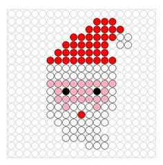 Christmas Perler Beads, Kids Christmas Ornaments, Diy Perler Beads, Perler Bead Art, Christmas Crafts, Xmas, Cross Stitch Bird, Cross Stitch Designs, Cross Stitching