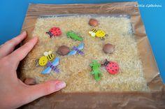 activités sensorielles pour bébé sensory bag sensory activities