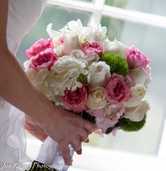 Beautiful Spring Wedding Bouquet. Jon Reindl Photography.