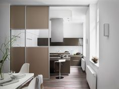Schiebetür küchenschrank  Schiebetür matt mit Sprossen deckenhoch | Küche | Pinterest ...