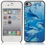 Have one to sell? Sell it yourself 3D Dolphin Pattern Protective Hard Back Case for iPhone 4/4S on Ebay