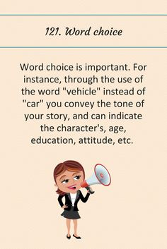 121: Word choice.