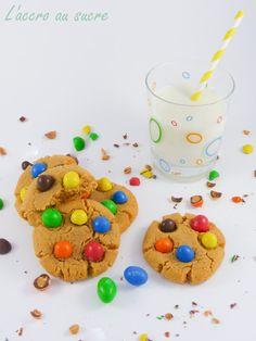 L'Accro au sucre a un blog: Les cookies aux M&M's et au beurre de cacahuètes