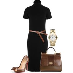 Untitled #2837 by injie-anis on Polyvore featuring polyvore, moda, style, Michael Kors, Christian Louboutin, Dolce&Gabbana, Marc by Marc Jacobs and Topshop