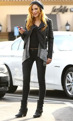 Bella Thorne Shows Off Her Pins In Classic Skinnies