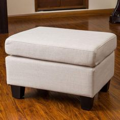 Best Farmhouse Style Ottomans! Discover the top-rated country themed ottomans for your farm home living room or bedroom. Fabric Storage Ottoman, Round Storage Ottoman, Ottoman Footstool, Upholstered Ottoman, Home Decor Furniture, Living Room Furniture, Furniture Deals, Furniture Outlet, Online Furniture