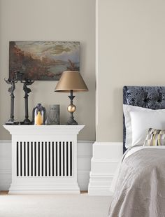 Doable Living Room Decor and Interior Design Tips Crown Bathroom Paint, Bathroom Feature Wall, Bathroom Paint Colors, Paint Colors For Living Room, Crown Paint Colours, Living Room Designs, Living Room Decor, Dining Room, Hallway Colours