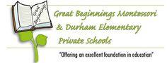 Great Beginnings Montessori, Durham Elementary Private School & Durham Academy Secondary Private School Durham Region, Stem For Kids, Reading Centers, School Programs, Private School, Music Lessons, After School, Montessori, Activities For Kids