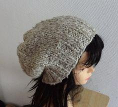 Hand Knit  Hat  beret women knit hat slouch women by Ifonka, $30.00