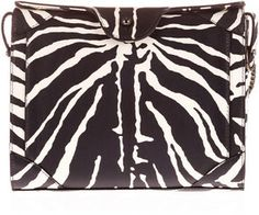 Carven Zebra Print Leather Bag on shopstyle.com.au