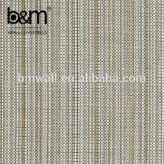 XPE weave wallcoverings upholstery fabric wallpaper interior wall panels covering