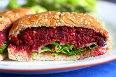 The Plant veggie burger