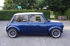 The Only Place To Auction Your Classic Motor 1978 Classic Leyland Mini Hayabusa… Mini Cooper S, Mini Cooper Classic, Classic Mini, Classic Cars, Formula 1, Mini Morris, Minis, Bike Engine, Mini Clubman