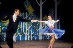 Dick Van Dyke and Chita Rivera in Bye Bye Birdie: Broadway, 1960