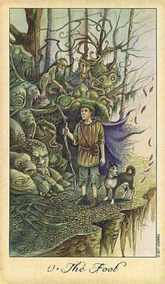 GHOSTS AND SPIRITS TAROT - The Fool
