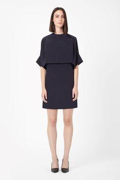 COS | Open-back silk dress