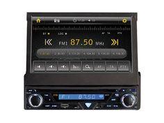 Autoradio mit Touch-Display http://j.mp/1eLYN7b