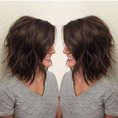 Shoulder Length Layered Bob Haircuts