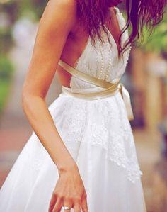I love Boho Wedding Dresses #boho #wedding #dress www.loveitsomuch.com