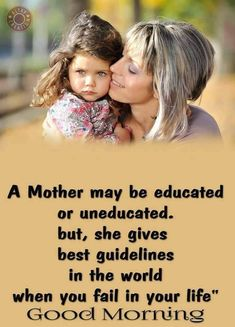 Mother's love is pure. Gud Morning Pics, Good Morning Life Quotes, Good Morning Posters, Good Night Hindi Quotes, Morning Qoutes, Good Morning Inspirational Quotes, Morning Greetings Quotes, Good Morning Messages, Good Morning Good Night