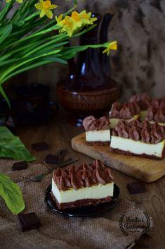 Wanilia i Kardamon: Sernik mleczno czekoladowy