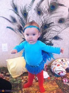Pretty Peacock - Halloween Costume Contest