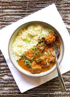 Crockpot Chicken Tikka Masala – The Defined Dish - Kids Lunch Crockpot Recipes, Chicken Recipes, Healthy Recipes, Rice Recipes, Cooker Recipes, Dinner Recipes, Indian Food Recipes, Ethnic Recipes, Chicken Tikka Masala