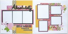 'Making Connections CTMH' Scrapbook Kits Now Available Here! - Brushed