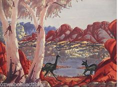 Ewald Namatjira Painting, Art, Art Background, Painting Art, Kunst, Paintings, Performing Arts, Painted Canvas, Drawings