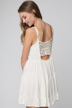 Jada Dress (White)