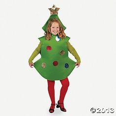 Child Christmas Tree Costume