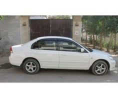 Honda Exi White color Scratch Less Body Model 2005 For Sale in Karachi