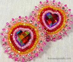 Beaded Earrings, Beaded Jewelry, Native American Beadwork, Pow Wow, Be My Valentine, Traditional, Beads, Pink, Accessories